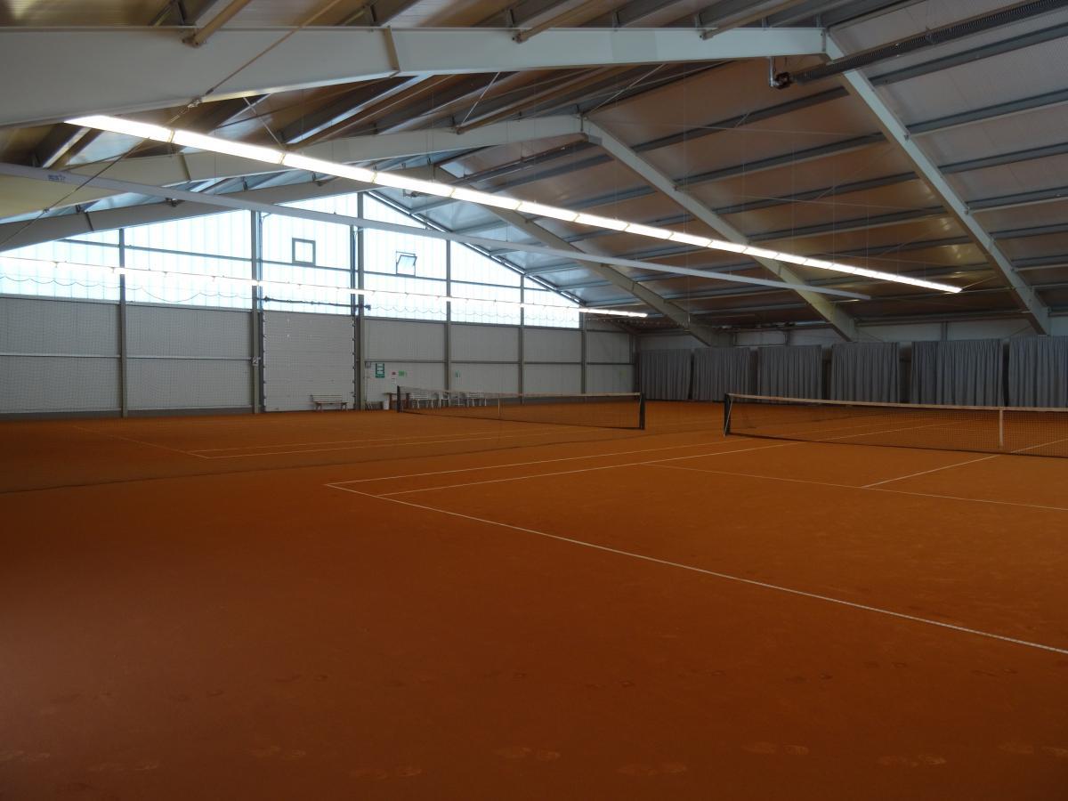 Tennishalle Wetter